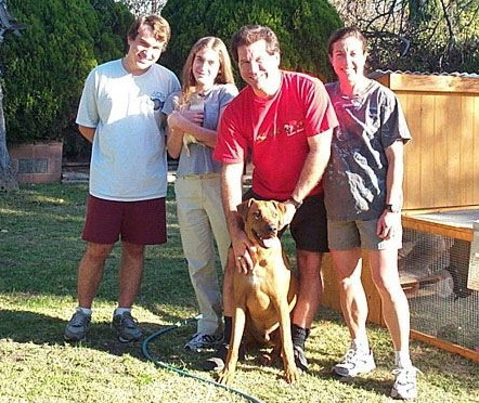 The Finney family 2002