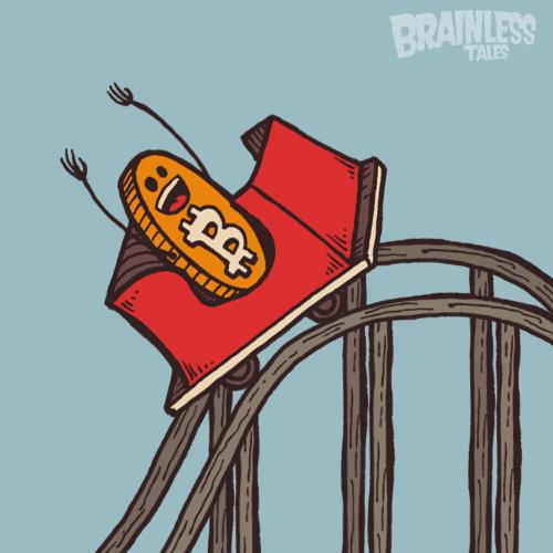 Bitcoin Roller Coaster Guy static